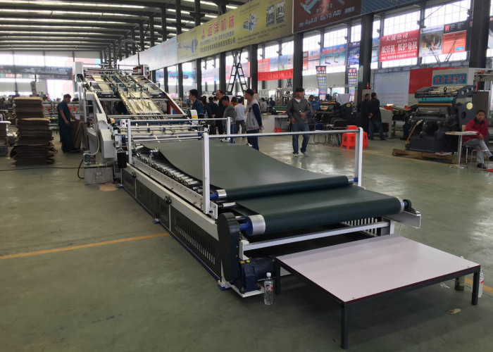 High Performance Automatic Cardboard Flute Laminating Machine With High Speed